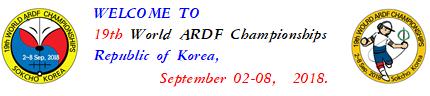 ARDF 2018